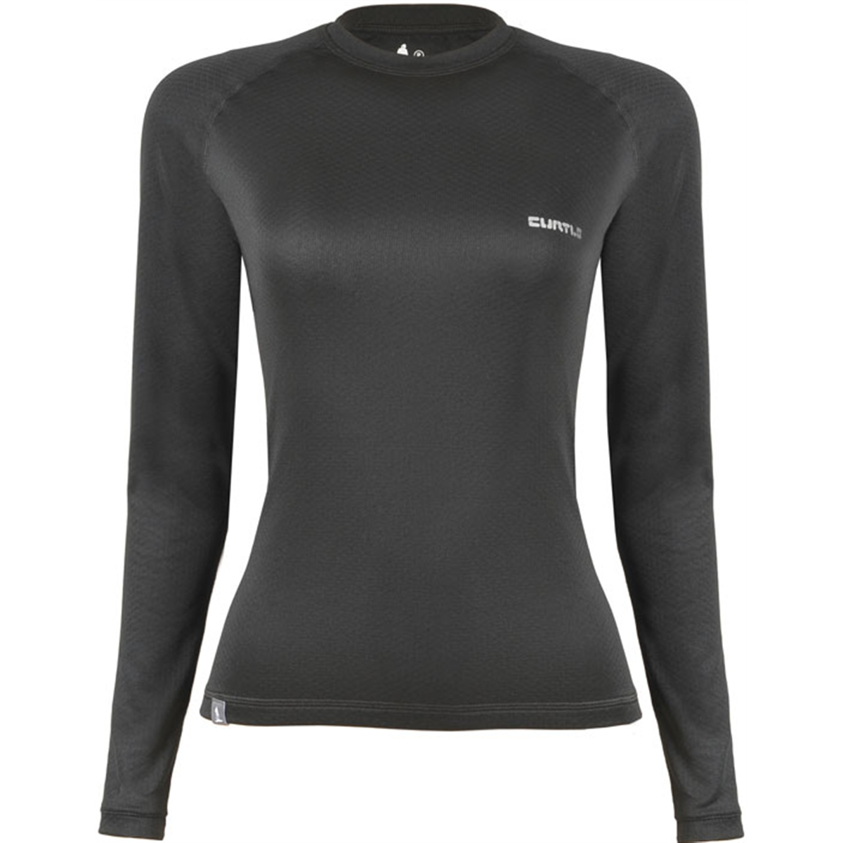 T - shirt ML Underwer Feminina ThermoSkin Curtlo - PRETA - G PRETA G