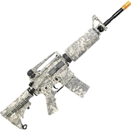 RIFLE AIRSOFT NAVY SEALS M4A1 CAMUFLADO ACU ELETRICO BB 6MM